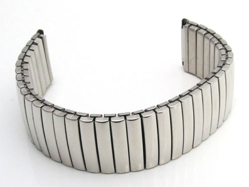 Elastic Stainless Steel 20mm Strap Watch Straps And